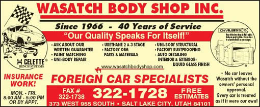 Wasatch Auto Body